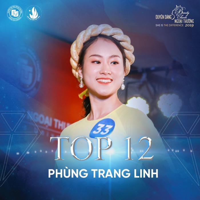 Nữ sinh bị ung thư bất ngờ lọt top 12 Hoa khôi ĐH Ngoại thương Hà Nội ảnh 5