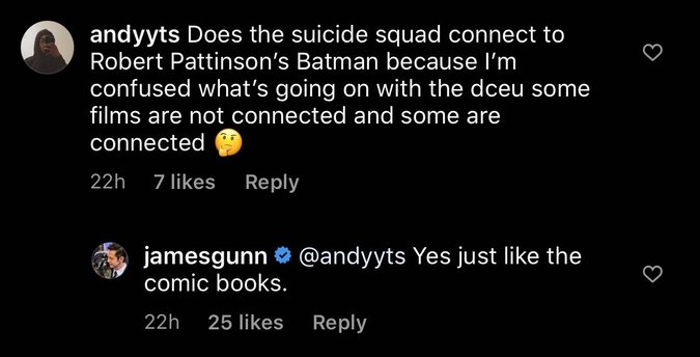 James Gunn tiết lộ không phải tất cả phim DC trong tương lai đều kết nối với nhau!