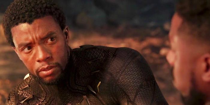 Black Panther cùng Killmonger ngắm hoàng hôn.