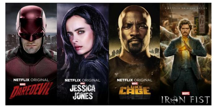 NHững series do Marvel và Netflix hợp tác sản xuất