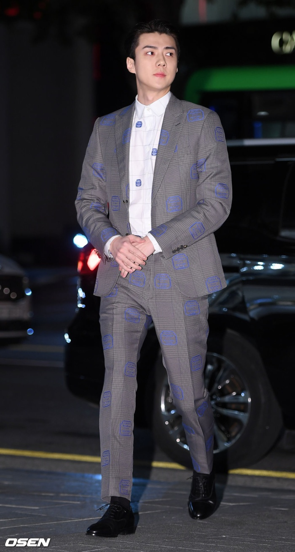 Màn đọ sắc đỉnh cao của Gong Yoo  Jung Woo Sung, Cha Eun Woo (Astro) và Sehun (EXO) tại sự kiện ảnh 8