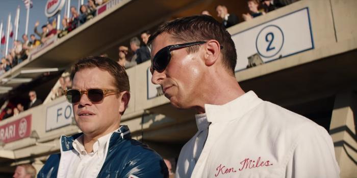 """Matt Damon và Christian Bale """"đụng độ"""" trong """"Ford v Ferrari""""."""