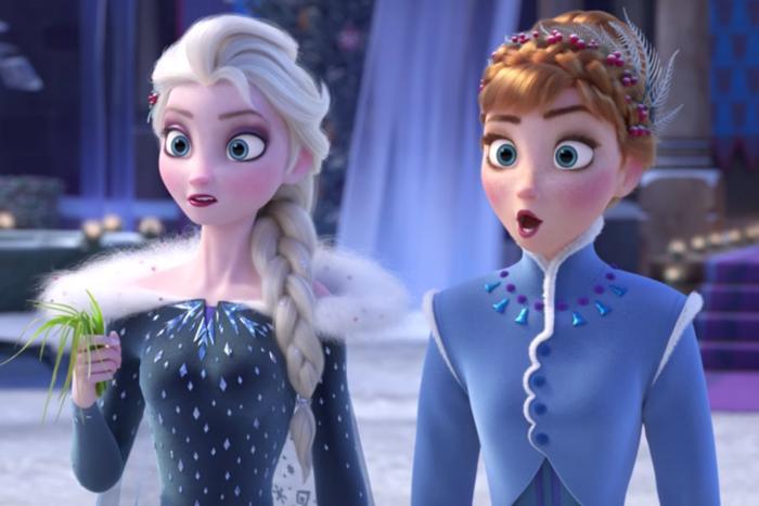 """Chị em nữ hoàng băng giá Elsa bước vào cuộc phiêu lưu mới trong """"Frozen 2""""."""