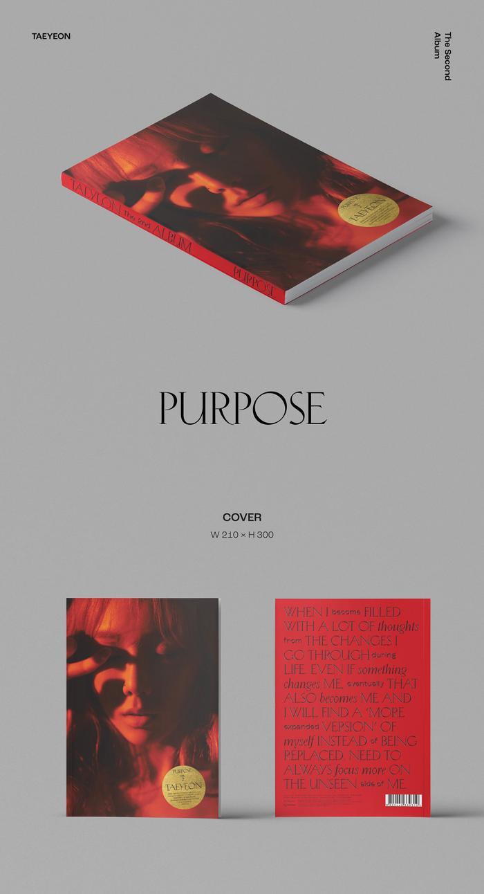 Album Purpose của Taeyeon.
