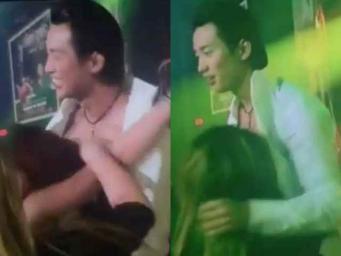 Khi đang biểu diễn, Đan Nguyên bất ngờ bị fan nữ cởi áo và gục đầu vào người, tiếp đó, một người khác bất ngờ xuất hiện hôn vào bụng khiến nam ca sĩ không khỏi ngại ngùng, phải đẩy ra.