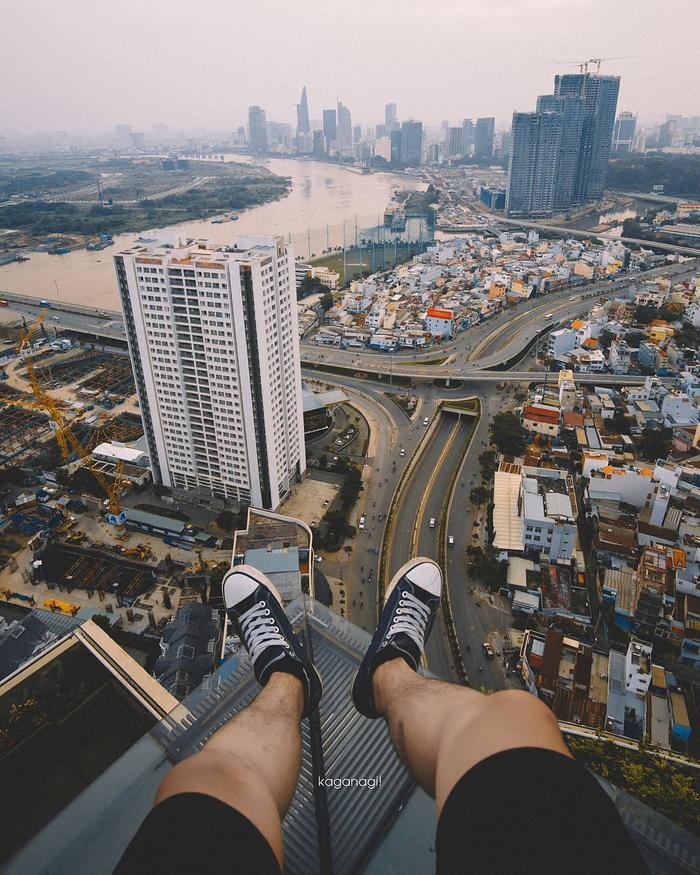 Choáng ngợp với một Sài Gòn thật khác từ góc nhìn không dành cho người sợ độ cao ảnh 14