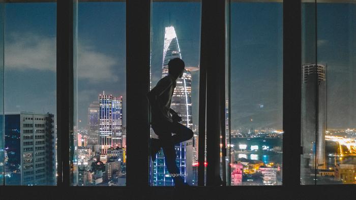 Choáng ngợp với một Sài Gòn thật khác từ góc nhìn không dành cho người sợ độ cao ảnh 4