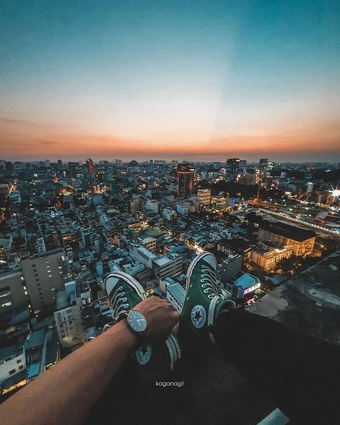 Choáng ngợp với một Sài Gòn thật khác từ góc nhìn không dành cho người sợ độ cao ảnh 2