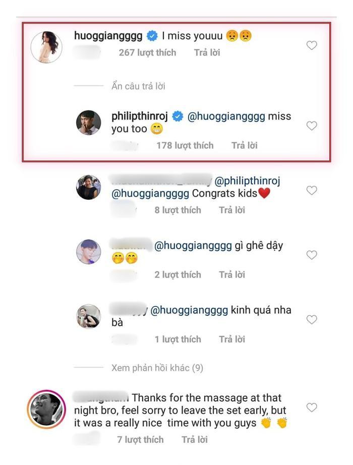 Màn đối đáp đầy tình cảm giữa Hương Giang và Philip Thinroj.