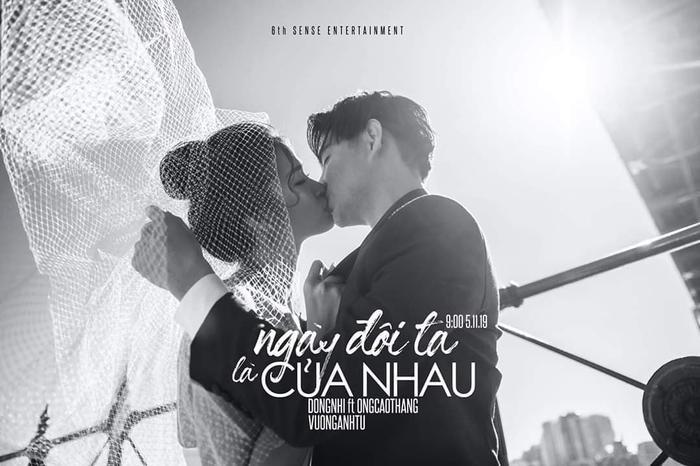 Đông Nhi chính thức xác nhận tên ca khúc mới: Ngày đôi ta là của nhau.