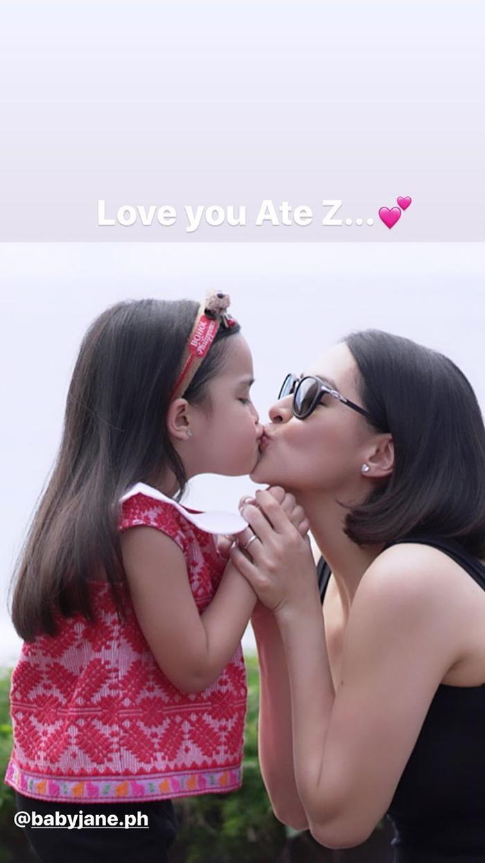 Hiện tại Marian Rivera đã tham gia quay một số quảng cáo dành cho trẻ nhỏ với con gái Zia