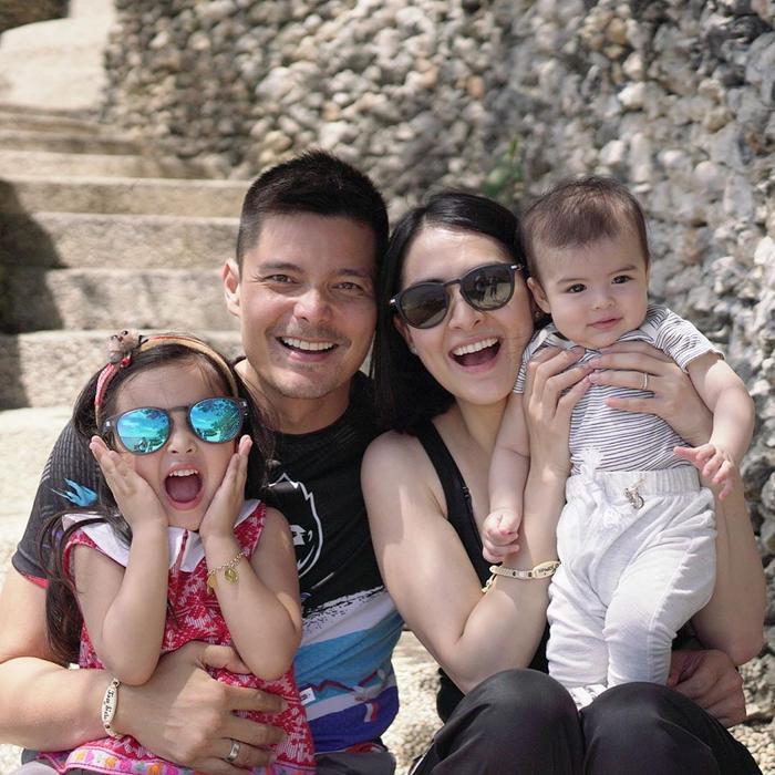 Marian Rivera khoe ảnh du lịch hạnh phúc bên chồng và các con tại đảo Panglao, tỉnh Bohol, Philippines vào cuối tuần vừa qua