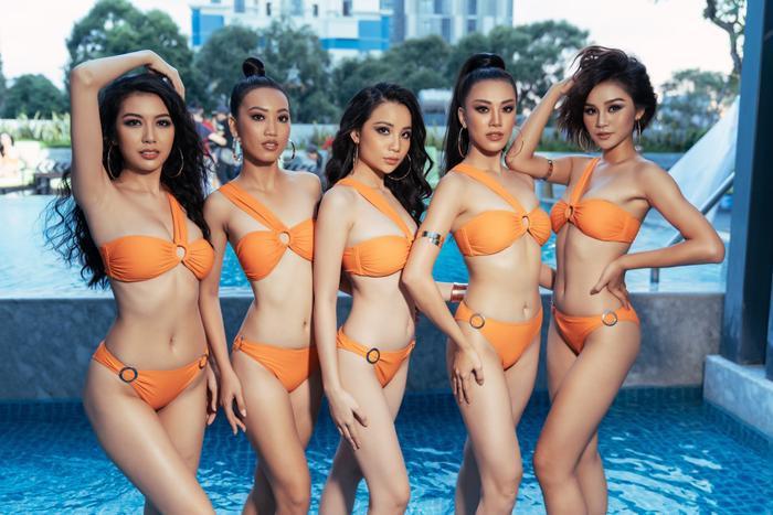 Thúy Vân nổi loạn  Khánh Vân khoe chân dài miên man  Đào Hà rạng rỡ trong bộ ảnh bikini MUV2019 ảnh 3