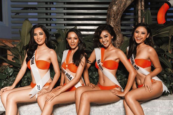 Thúy Vân nổi loạn  Khánh Vân khoe chân dài miên man  Đào Hà rạng rỡ trong bộ ảnh bikini MUV2019 ảnh 5