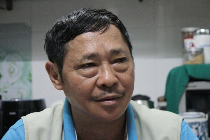 Ông Hùng làm công việc tuần tra phòng chống tội phạm gần 20 năm qua.