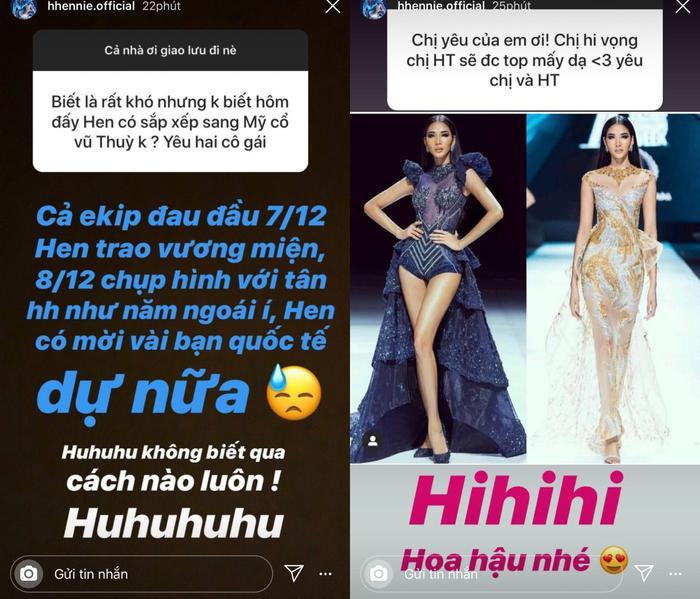 H'Hen Niê bận trao vương miện cho Tân hoa hậu nên sẽ không thể đồng hành cùng Hoàng Thùy khi chinh chiến Miss Universe 2019.