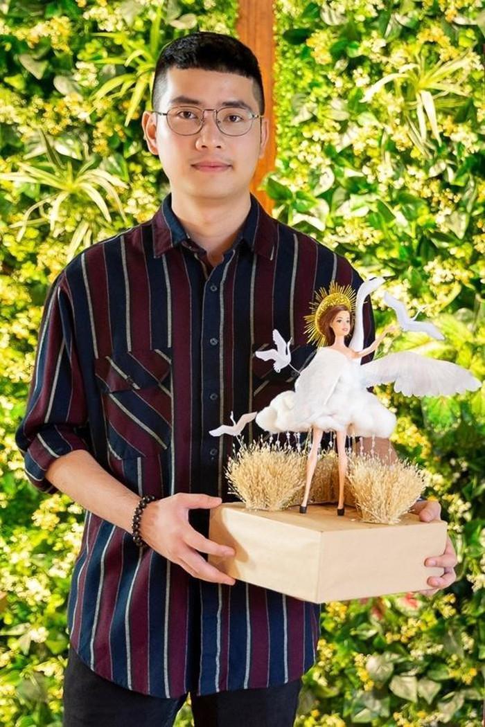 Chân dung NTK trẻ Nguyễn Đức Liêm - cha đẻ của thiết kế Cò.