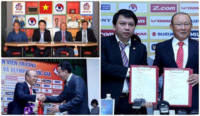 Chính HLV Park Hang Seo đã đưa bóng đá Việt Nam vươn tầm châu lục.