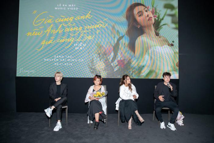 Họp báo ra mắt MV mới của Hiền Mai.