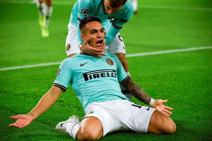Lautaro Martinez để lại dấu ấn ở bàn thắng thứ 2. Ảnh: UEFA.