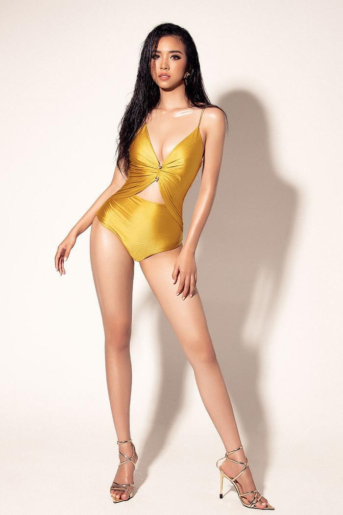 Á hậu Thúy An khoe body hút mắt, xuất hiện nổi bật trên trang chủ Miss Intercontinental ảnh 6