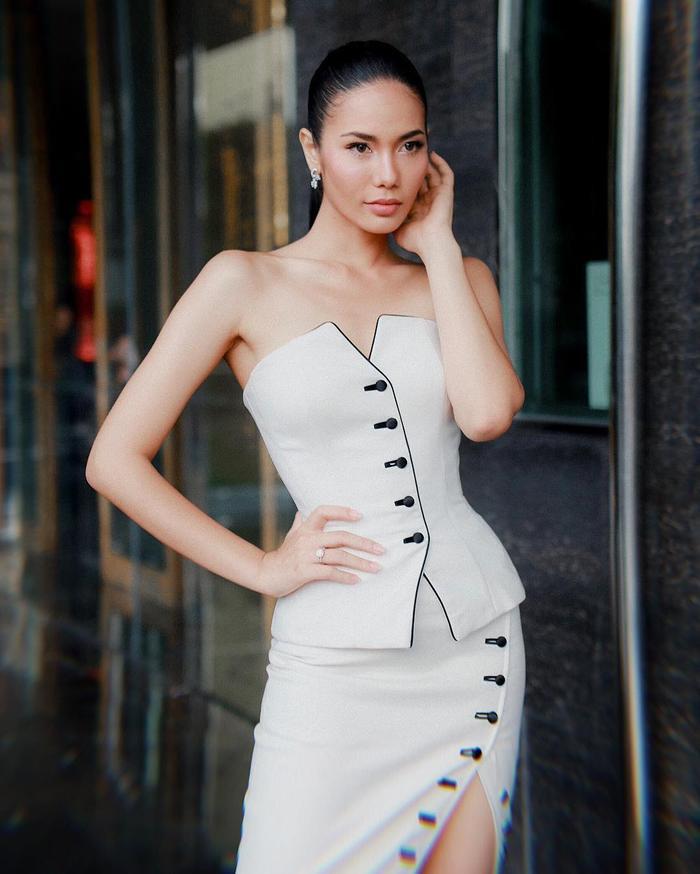 Chalita Suansane -Top 6 Hoa hậu Hoàn vũ 2016 đến từ Thái Lan.