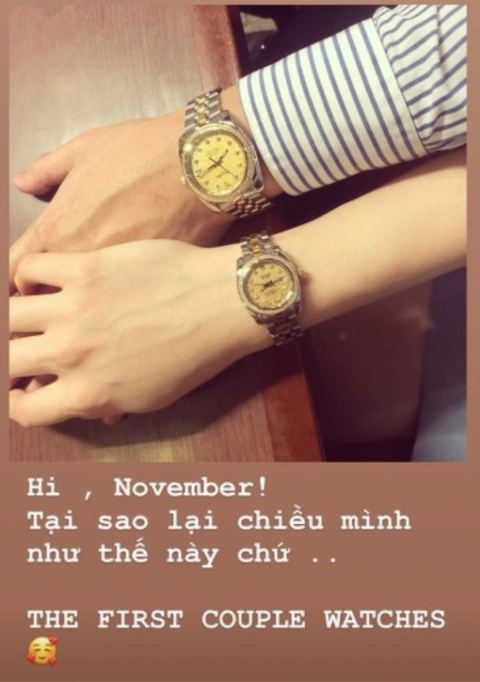 Đây là cặp đồng hồ đôi đầu tiên của cả hai