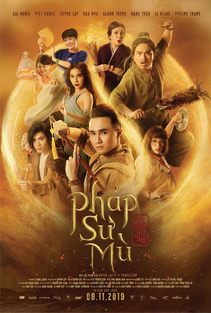 Poster chính thức bộ phim Pháp Sư Mù