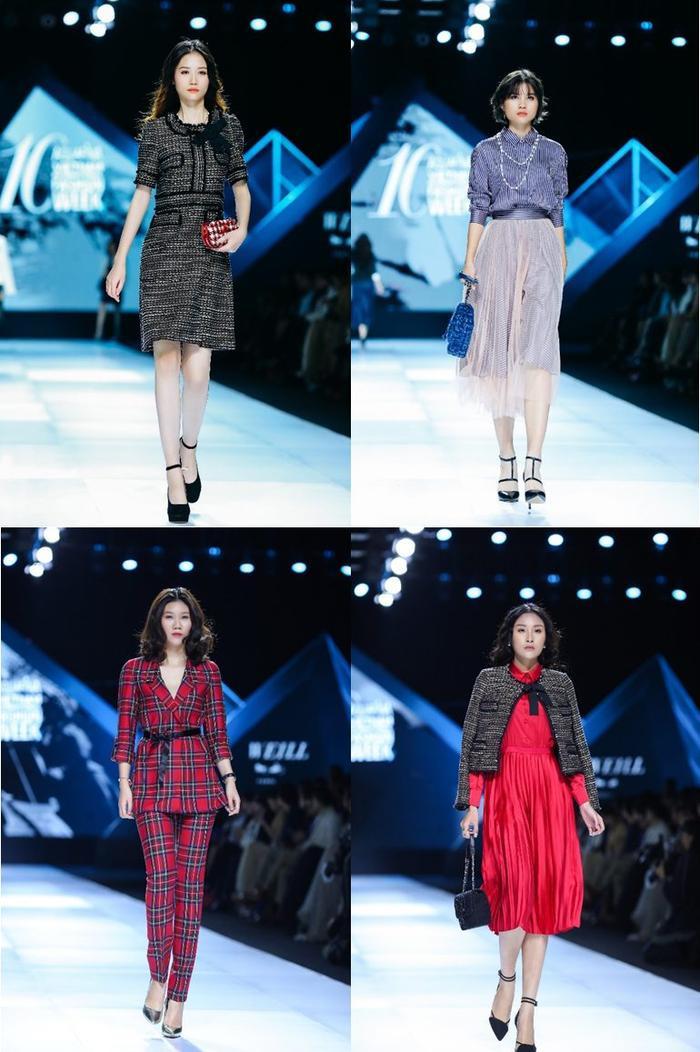 Xu hướng thu đông 2019 mới nhất của Weill tại Tuần lễ thời trang Quốc tế Việt Nam ảnh 9