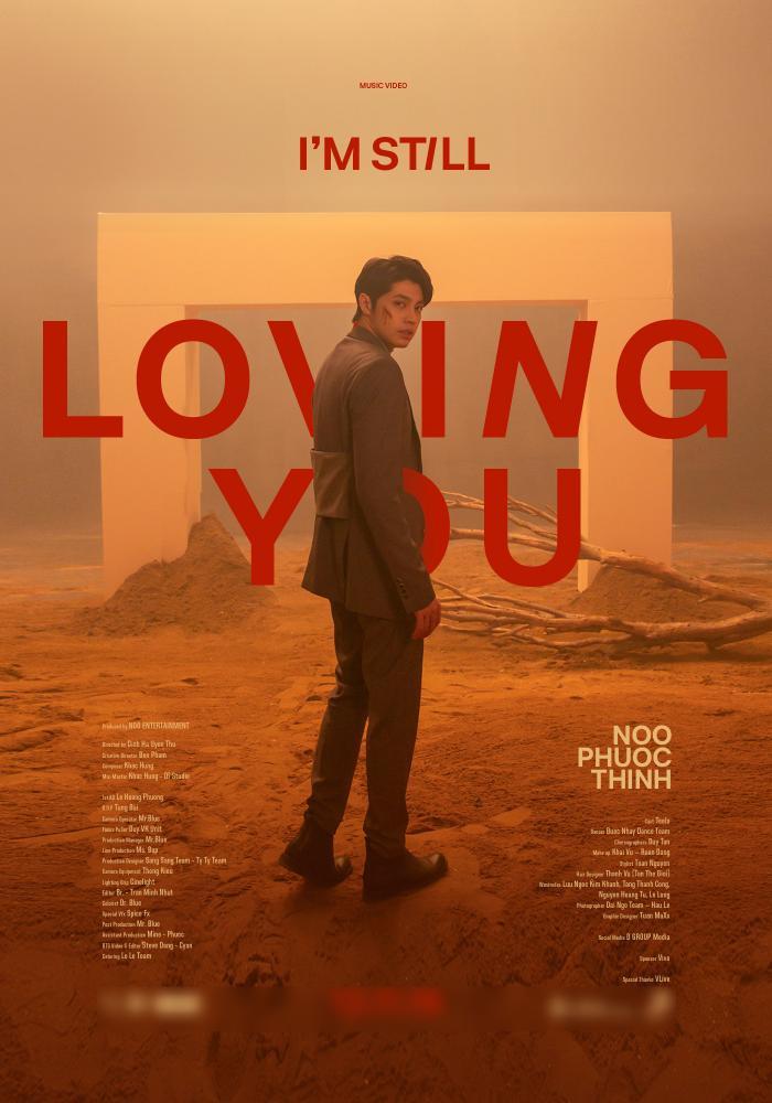 """Poster chính thức cho sản phẩm mới """"I'm Still Loving You""""."""
