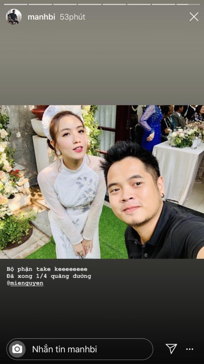 Mie Nguyễn diện áo dài trắng truyền thống và trang điểm nhẹ nhàng