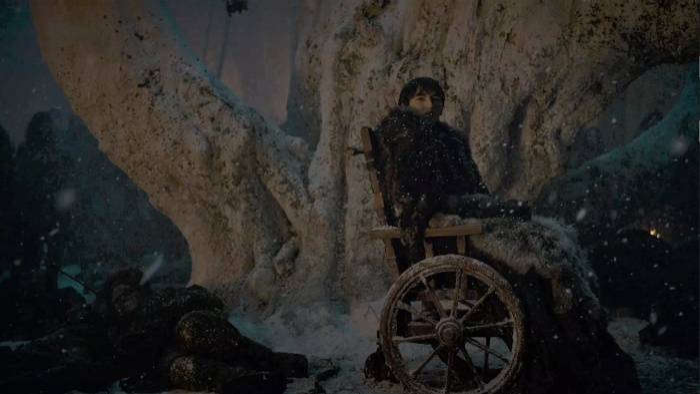 Bran Stark là mồi nhử Dạ Đế trong tập 3 của Game of Thrones mùa 8.