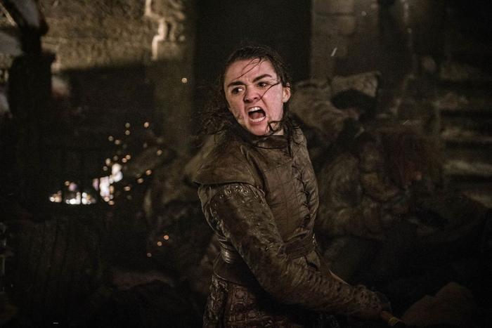 Arya Stark là nhân vật kết liễu Night King.
