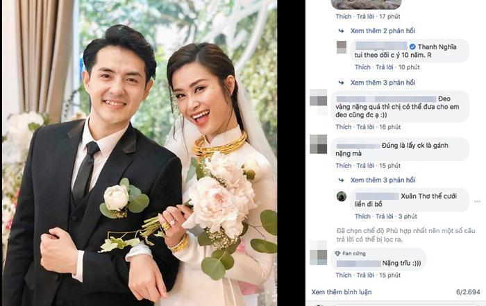 Hình ảnh đám cưới nhanh chóng thu hút được sự chú ý, quan tâm từ cộng đồng mạng