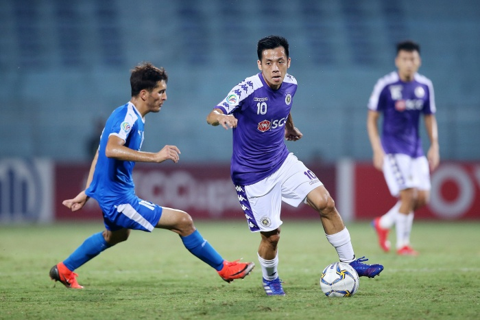 Văn Quyết toả sáng tại V.League, Cup Quốc gia và AFC Cup 2019. Ảnh: Hà Nội FC.