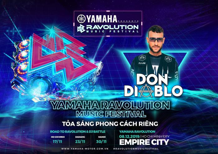 Các tín đồ EDM sẽ có cơ hội thưởng thức đêm nhạc điện tử hoành tráng với sự góp mặt của các nghệ sĩ DJ lừng danh như: Don Diablo, bộ đôi Aly & Fila…