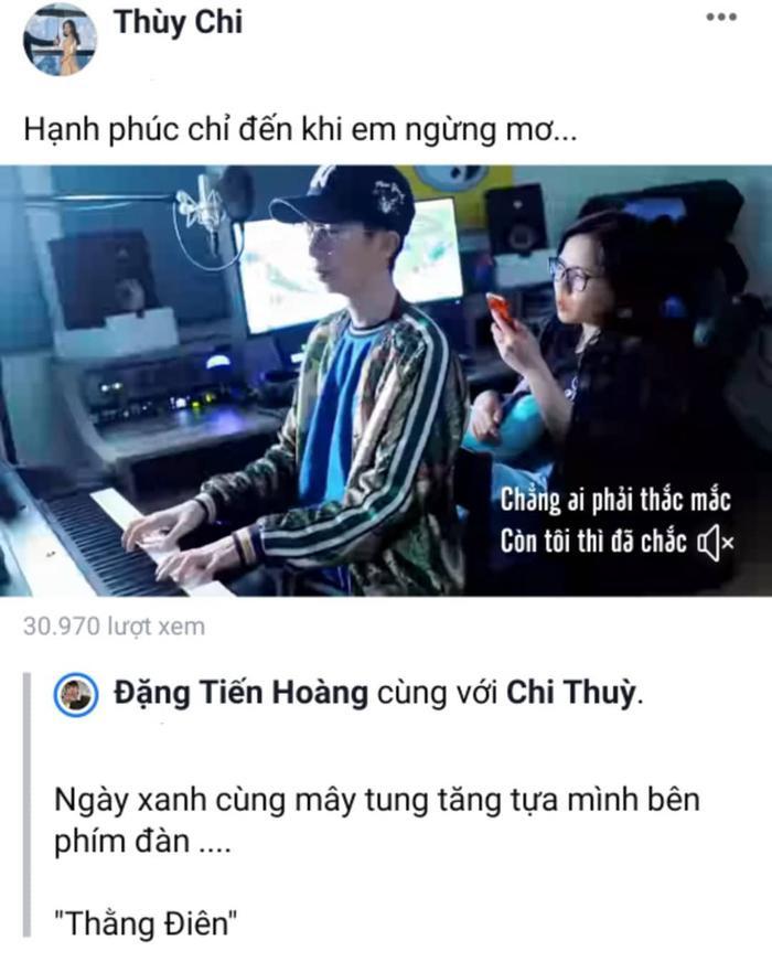 Thùy Chi và Viruss mới đây đã cùng nhau cover lại ca khúc Thằng điên (Phương Ly, Justa Tee).