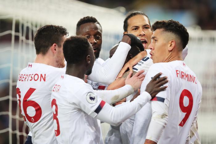Liverpool thể hiện sức mạnh hết sức vượt trội.