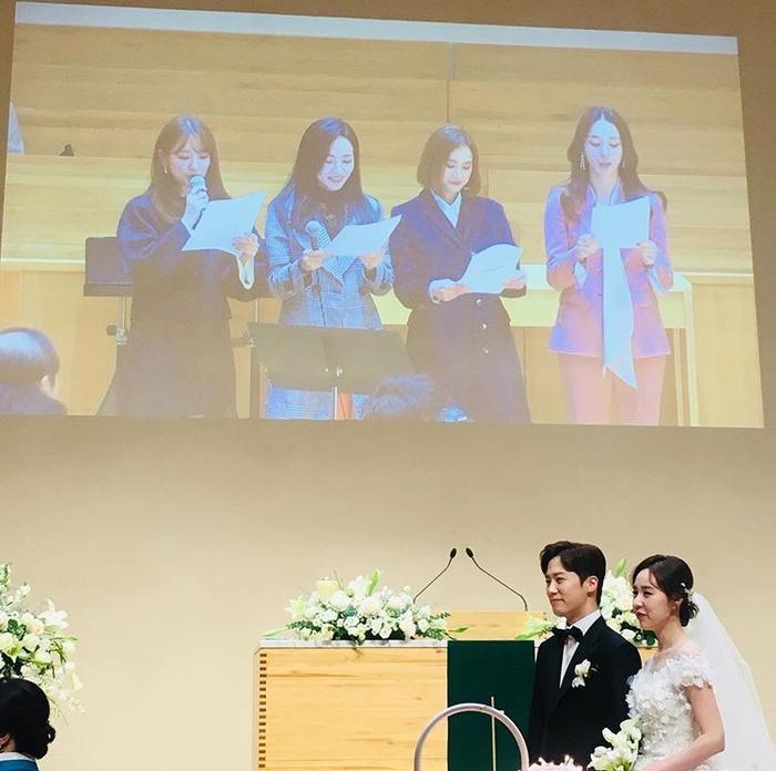 Yoon Eun Hye cùng nhiều sao Hàn dự đám cưới Kan Mi Yeon  Hwang Paul ảnh 18