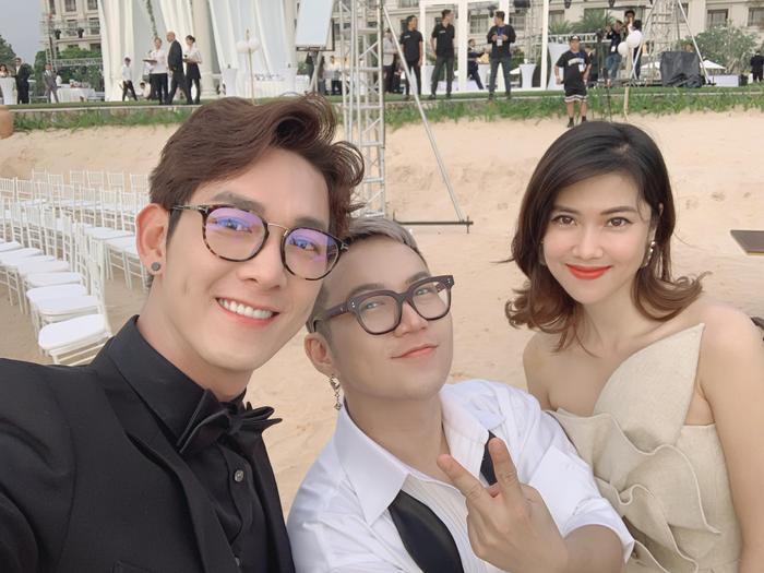 Gia đình Đông Nhi  Ông Cao Thắng: LipB  Han Sara đẹp không kém cô dâu, Toki tái ngộ UNI5, Song Luân chuẩn soái ca ảnh 9