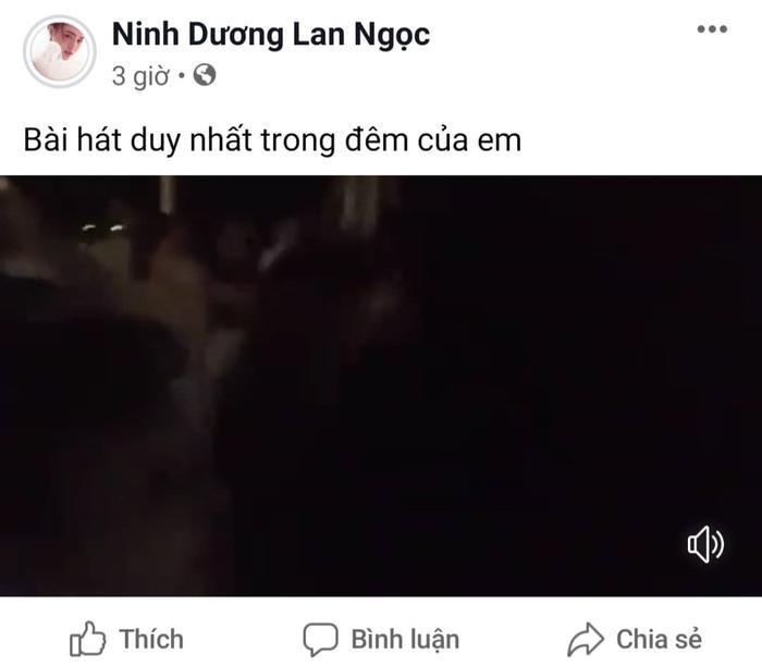 Ninh Dương Lan Ngọc chia sẻ về tiết mục của mình.