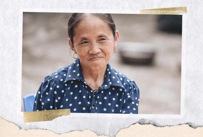 """Nhờ sự chân chất, mộc mạc, đặc biệt là lối nói chuyện duyên dáng, mà bà đã trở thành """"người bà quốc dân"""" trong lòng người xem."""
