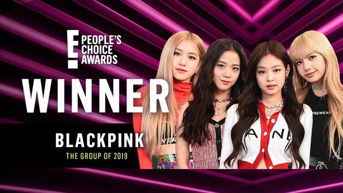 BlackPink là nhóm nhạc của năm 2019 do People's Choice Award vinh danh.