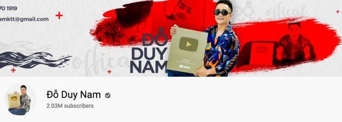 Đỗ Duy Nam, với 2,02 triệu lượt người đăng kí, là gương mặt cuối cùng có mặt trong top 5 những kênh YouTube của sao Việt có nhiều người theo dõi nhất. Anh nổi tiếng với những video parody và mang tính chất hài hước.
