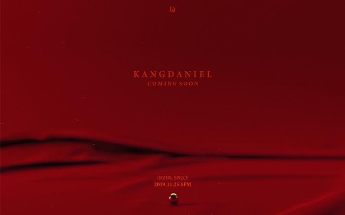 Poster cho sản phẩm mới của Kang Daniel.