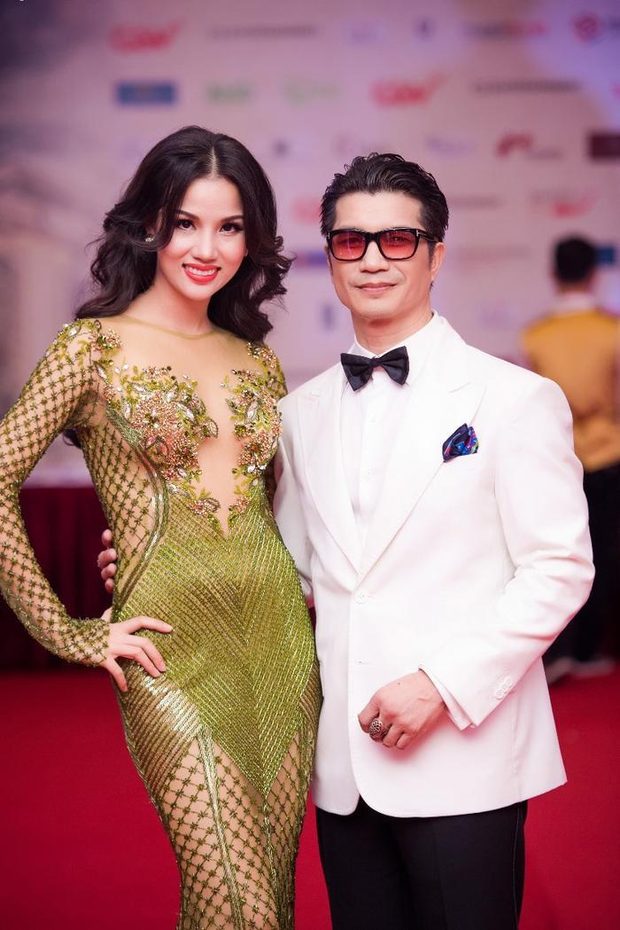 Vợ chồng Bebe Phạm – Dustin Nguyễn.
