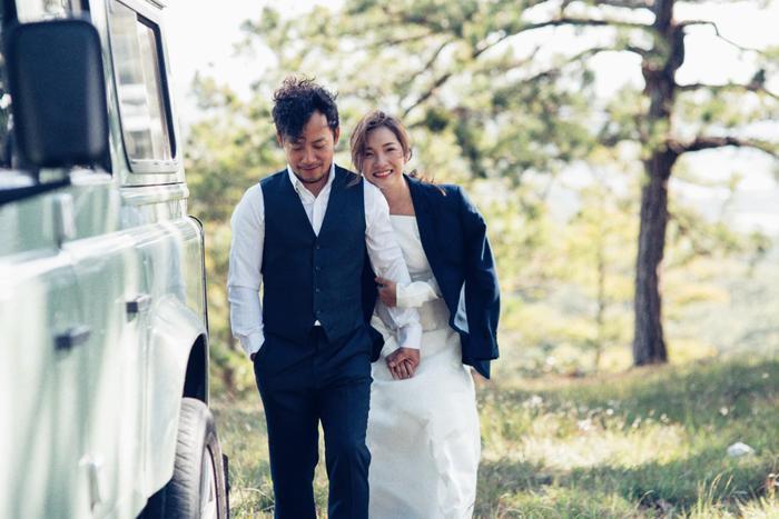 Sau kết hôn, Tiến Đạt và Thụy Vy luôn dành thời gian bên nhau và tận hưởng cuộc sống hôn nhân hạnh phúc, viên mãn.