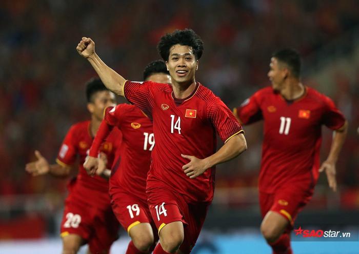 Công Phượng thi đấu rất nổi bật trận gặp UAE.