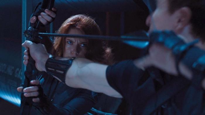 Trận chiến giữa Hawkeye và Black Widow đã từng diễn ra trong quá khứ.