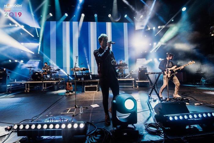 Kodaline mang những bản hit để đời đến sân khấu MMF 2019.